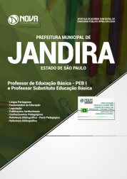 Apostila Prefeitura de Jandira - SP 2018 - PEB I e Professor Substituto Educação Básica
