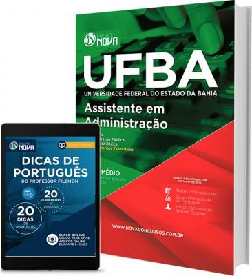 Apostila UFBA 2017 - Assistente em Administração