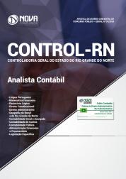 Apostila Download CONTROL-RN 2018 - Analista Contábil