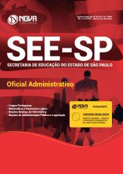 Apostila SEE-SP 2019 - Oficial Administrativo
