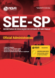 Apostila Download SEE-SP 2019 - Oficial Administrativo