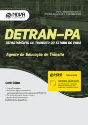 Apostila DETRAN-PA 2019 - Agente de Educação de Trânsito