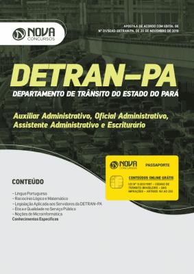Apostila Download DETRAN-PA 2019 - Agente de Educação de Trânsito