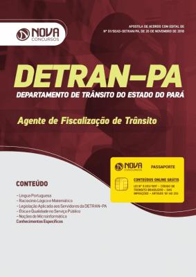 Apostila Download DETRAN-PA 2019 - Agente de Fiscalização de Trânsito