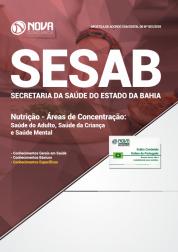 Apostila Download SESAB-BA 2018 - Nutrição - Áreas de Concentração