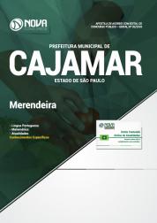 Apostila Download Prefeitura de Cajamar - SP 2018 - Merendeira