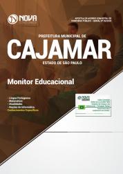 Apostila Prefeitura de Cajamar - SP 2018 - Monitor Educacional