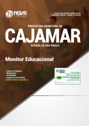 Apostila Download Prefeitura de Cajamar - SP 2018 - Monitor Educacional