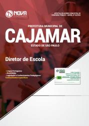 Apostila Prefeitura de Cajamar - SP 2018 - Diretor de Escola