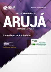 Apostila Prefeitura de Arujá - SP 2019 - Controlador de Patrimônio