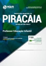 Apostila Prefeitura de Piracaia - SP 2018 - Professor de Educação Infantil