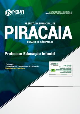Apostila Prefeitura De Piracaia Sp 2018 Professor De Educação Infantil