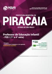 Apostila Prefeitura de Piracaia - SP 2018 - Professor de Educação Básica I (1ª a 4ª séries)