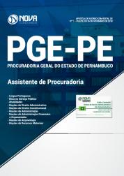 Apostila PGE-PE 2019 - Assistente de Procuradoria