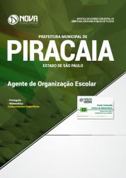 Apostila Download Prefeitura de Piracaia - SP 2018 - Agente de Organização Escolar