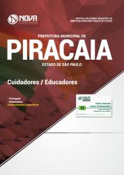 Apostila Prefeitura de Piracaia - SP 2018 - Cuidadores/Educadores