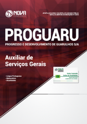 Apostila Download PROGUARU-SP 2018 - Auxiliar de Serviços Gerais