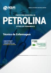 Apostila Prefeitura de Petrolina - PE 2019 - Técnico de Enfermagem