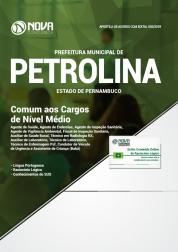 Apostila Download Prefeitura de Petrolina - PE 2019- Comum aos Cargos de Nível Médio