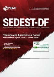 Apostila Download SEDEST-DF 2019 - Técnico em Assistência Social - Especialidades: Agente Social  e Cuidador Social