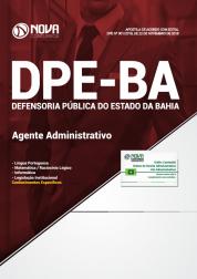 Apostila DPE-BA 2019 - Agente Administrativo