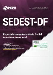 Apostila SEDEST-DF 2019 - Especialista em Assistência Social - Especialidade: Serviço Social