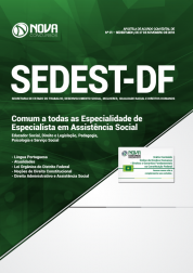 Apostila Download SEDEST-DF 2019 - Comum a Todas as Especialidade de Especialista em Assistência Social