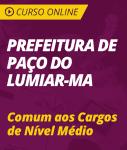 Curso Online Prefeitura de Paço do Lumiar - MA 2018 - Comum aos Cargos de Nível Médio