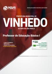 Apostila Download Prefeitura de Vinhedo - SP 2018 - Professor de Educação Básica I