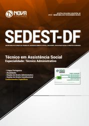 Apostila Download SEDEST-DF 2019 - Técnico em Assistência Social - Especialidade: Técnico Administrativo