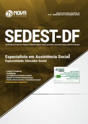 Apostila Download SEDEST-DF 2019 - Especialista em Assistência Social - Especialidade: Educador Social