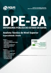 Apostila DPE-BA 2019 - Analista Técnico de Nível Superior - Especialidade: Direito