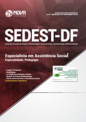 Apostila SEDEST-DF 2019 - Especialista em Assistência Social - Especialidade: Pedagogia