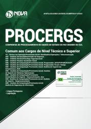 Apostila PROCERGS-RS 2019 - Comum aos Cargos de Nível Técnico e Superior