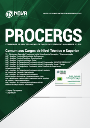 Apostila Download PROCERGS-RS 2019 - Comum aos Cargos de Nível Técnico e Superior