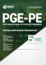 Apostila PGE-PE 2019 - Analista Judiciário de Procuradoria