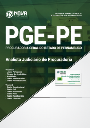 Apostila Download PGE-PE 2019 - Analista Judiciário de Procuradoria