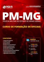 Apostila PM-MG 2018 - Curso de Formação de Oficiais (CFO)