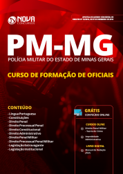 Apostila Download PM-MG 2018 - Curso de Formação de Oficiais (CFO)