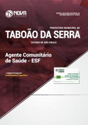 Apostila Download Prefeitura de Taboão da Serra - SP 2018 - Agente Comunitário de Saúde - ESF