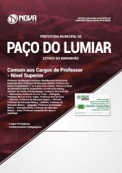 Apostila Prefeitura de Paço do Lumiar - MA 2019 - Comum aos cargos de Professor - Ensino Superior