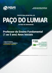 Apostila Prefeitura de Paço do Lumiar - MA 2019 - Professor do Ensino Fundamental (Anos Iniciais)