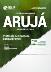 Apostila Prefeitura de Arujá - SP 2019 - Professor de Educação Básica Infantil I