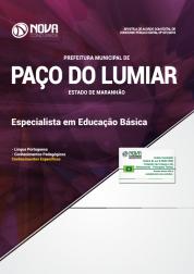 Apostila Prefeitura de Paço do Lumiar - MA 2019 - Especialista em Educação Básica