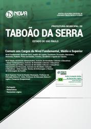 Apostila Prefeitura de Taboão da Serra - SP 2019 - Comum aos Cargos de Nível Fundamental, Médio e Superior
