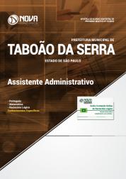 Apostila Download Prefeitura de Taboão da Serra - SP 2019 - Assistente Administrativo