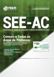 Apostila SEE-AC 2019 - Comum a Todas as Áreas de Professor