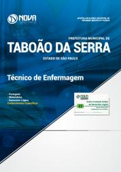 Apostila Prefeitura de Taboão da Serra - SP 2019 - Técnico de Enfermagem