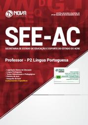 Apostila SEE-AC 2019 - Professor - P2 Língua Portuguesa