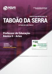 Apostila Prefeitura de Taboão da Serra - SP 2019 - Professor de Educação Básica II - Artes